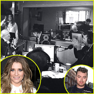 Ella Henderson Performs Sam Smith's 'I'm Not The Only One' In Front Of Him On BBC2 Radio