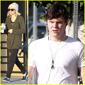 Emma Roberts & Evan Peters Spend Their Day Together