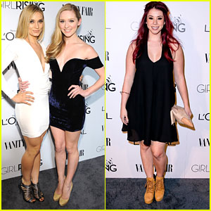Greer & Spencer Grammer Are The Most Glamorous Sisters at Vanity Fair's DJ Night