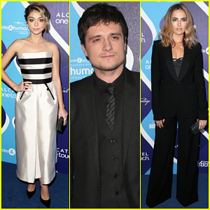 Josh Hutcherson Gets Honored at the Unite 4 Humanity Gala 2015!
