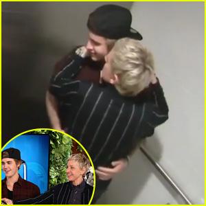 Justin Bieber Scares Fans in the Bathroom with Ellen DeGeneres - Watch Now!