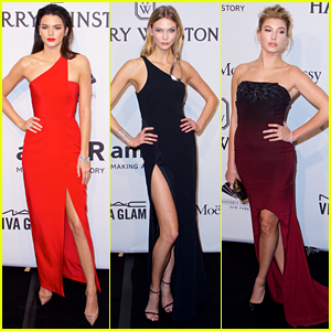 Kendall Jenner Shows Legs for Days at amfAR NY Gala!
