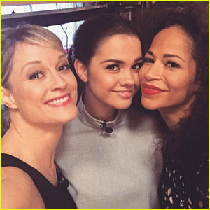 Maia Mitchell Takes Teri Polo & Sherri Saum To NYC For 'Fosters' Promo - See Their Adventures!