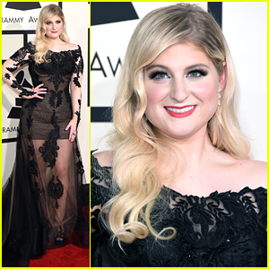 Meghan Trainor Is 'Sheer' Glam At Grammys 2015 - See Her Stunning Look!