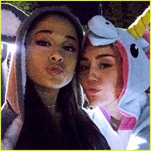 Ariana Grande Lends Helping Hand to Miley Cyrus' Happy Hippies