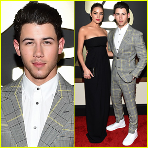 Nick Jonas & Olivia Culpo Are Picture Perfect at the Grammys 2015!