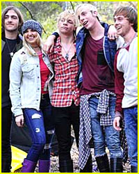 See Behind-the-Scenes Pics From R5's New Photo Shoot!