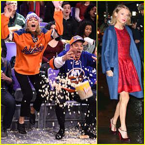 Taylor Swift Shows Off Her Sporty Side During 'The Tonight Show'