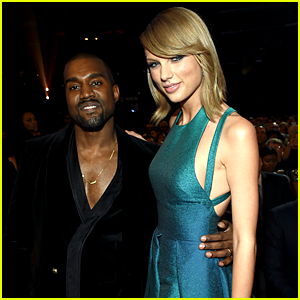 Taylor Swift Shares a Nice Moment with Kanye West at Grammys 2015!