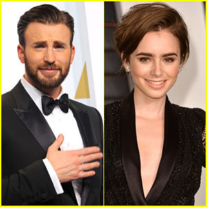 Lily Collins Reportedly Dating 'Avengers' Actor Chris Evans