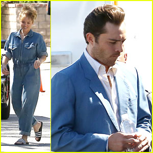 Ed Westwick Gets To Work On 'L.A. Crime' With Erika Christensen