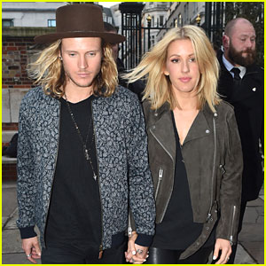 Ellie Goulding Heads To Private Gig with Dougie Poynter