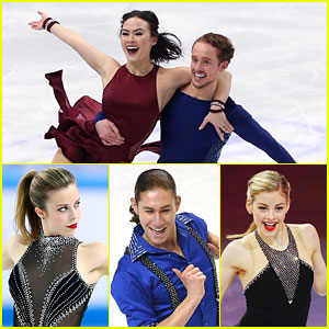 Madison Chock & Evan Bates Score Silver at World Championships; Gracie Gold & Jason Brown Take 4th in Shanghai