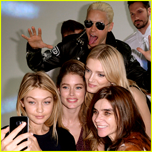 Gigi Hadid Gets Photobombed by Jared Leto in Paris!