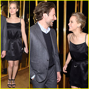 Jennifer Lawrence & Bradley Cooper Are Really Having the Best Night