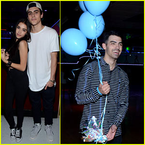 Joe Jonas & Madison Beer Celebrate #TBT with Just Jared & Monster High!