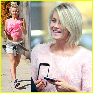 Julianne Hough Shares Best Throwback Thursday Pic With Mark Ballas - See It Here!