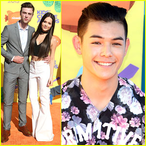 Kelli Berglund & Sterling Beaumon Celebrate 'Big Hero 6's Win at KCAs With Ryan Potter