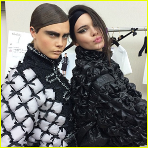 Kendall Jenner & Cara Delevingne Partner Up at Paris Fashion Week!