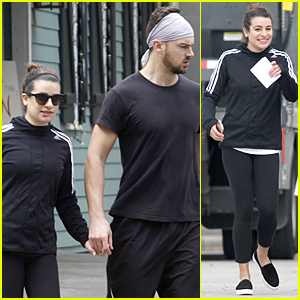 Lea Michele & Matthew Paetz Spend Quality Time Together in New Oreleans