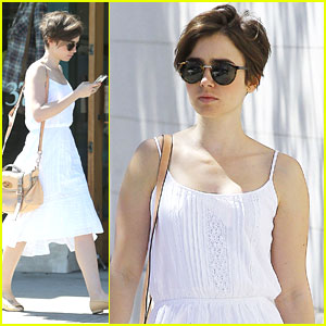 Lily Collins Thanks Fans For Birthday Book - See The Cute Pic!