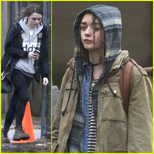 Maisie Williams Looks Worse For Wear On 'Devil & The Deep Blue Sea' Set