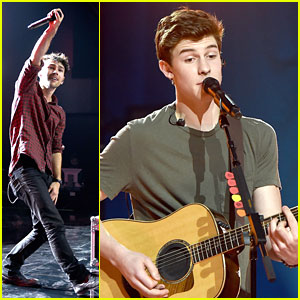 Max Schneider & Shawn Mendes Celebrate the iHeartRadio Fan Army Nominees