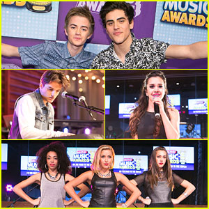 Megan Nicole & Jack & Jack Celebrate 'On The Road To RDMAs' in Los Angeles!