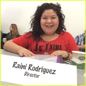 Raini Rodriguez Is Directing 'Austin & Ally' This Week!