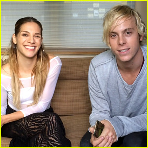 Riker Lynch Helps Us Get to Know His 'DWTS' Partner Allison Holker - Exclusive Video!