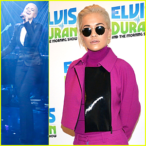 Rita Ora's 'New York Raining' Performance Is Amazing on 'Elvis Duran Show' - Watch Now!