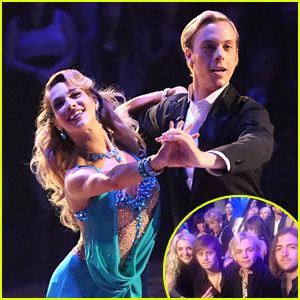 Ross Lynch Makes it to Riker's Second 'DWTS' Performance - See the Pics!