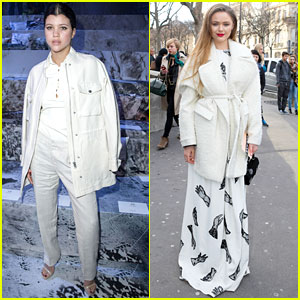 Sofia Richie Hits Up H&M & Kristina Bazan Checks Out The Rochas Show During Paris Fashion Week