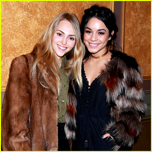 Vanessa Hudgens & AnnaSophia Robb Catch a Broadway Show Together!