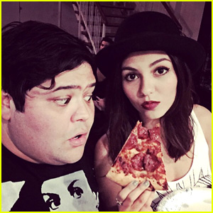 Harvey Giullen Hangs With Victoria Justice & the 'Eye Candy' Cast During Fun JJJ Takeover!