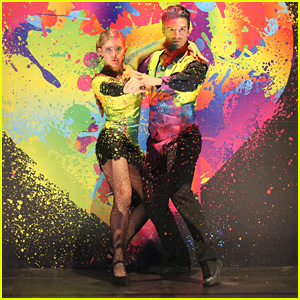 Willow Shields & Mark Ballas Paint the Town on 'DWTS' - See the Pics!
