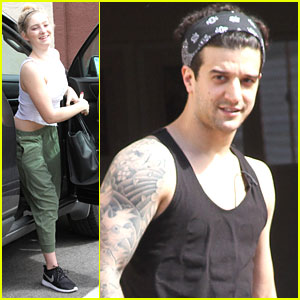 Willow Shields Gets Excited About The Rain After DWTS Practice