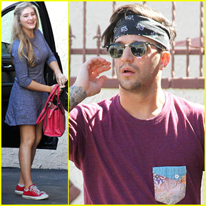 Willow Shields & Mark Ballas Will Be Fire & Ice For Paso Doble on 'DWTS'