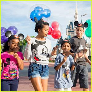 Yara Shahidi Hits Up Disney World With Her 'Black-ish' Co-Stars!