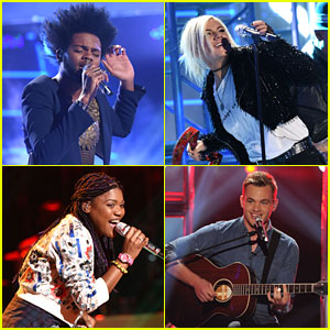 Quentin Alexander Says Goodbye To 'American Idol' - Watch All Performances Here!