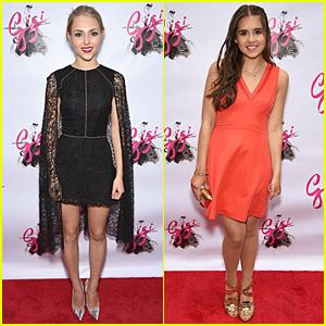 AnnaSophia Robb & Carly Rose Sonenclar Get Dressy at 'Gigi' Opening Night