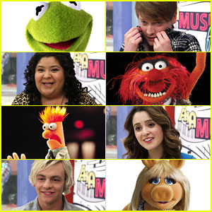 The 'Austin & Ally' Cast Celebrate 'Muppet Moments' With Their Favorite Muppet
