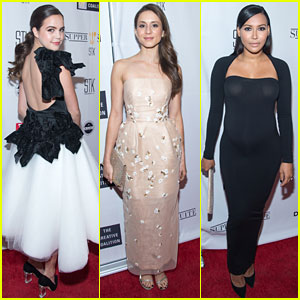 Bailee Madison, Naya Rivera & Troian Bellisario Dine Out With Creative Collation in D.C.