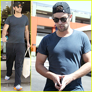 Chace Crawford Steps Out Following 'Boom' News