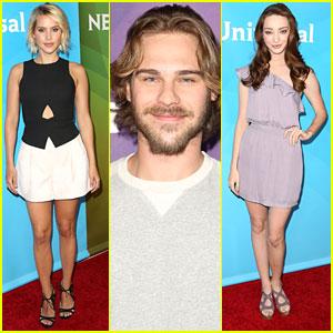 Grey Damon & Claire Holt Rep 'Aquarius' At NBC's Summer Press Day