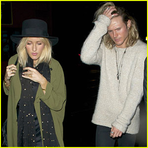 Ellie Goulding Fuels Engagement Rumors After Wearing A Ring On That Finger