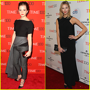 Emma Watson & Karlie Kloss Get Classy For Time 100 Gala