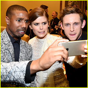Michael B. Jordan's Funny Selfie Face Is Amazing!