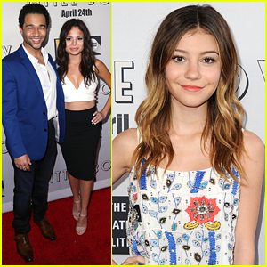 Corbin Bleu & Sasha Clements Make It A Date Night Out For 'Little Boy' Premiere
