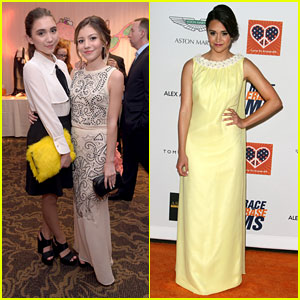 Rowan Blanchard & G Hannelius Present At Race To Erase MS Gala - See The Pics!